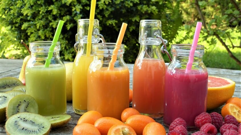 Fruit smoothies commonly used to detoxify