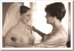 Bride with her mother-in-law