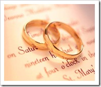 Marriage starts with a ring, and should not end in divorce