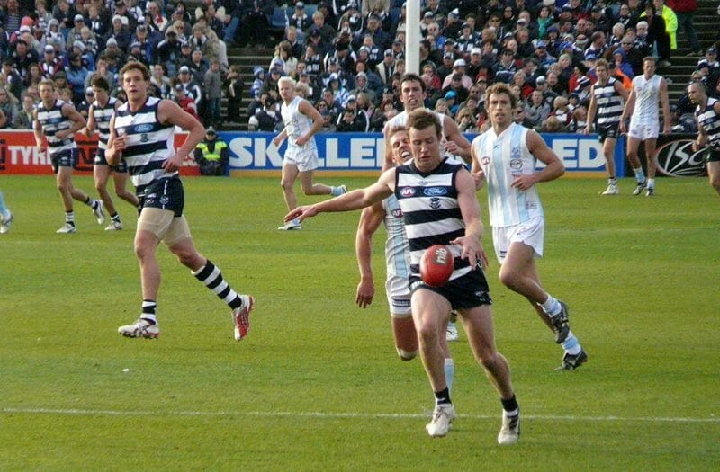 Australian Rules Football game