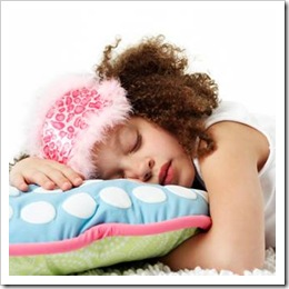 Girl sleeping peacefully