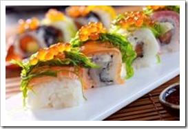 Sushi - healthy fast food