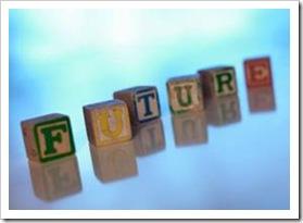 Cubes spelling future