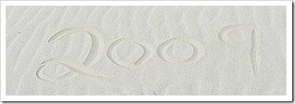 2009 written in sand