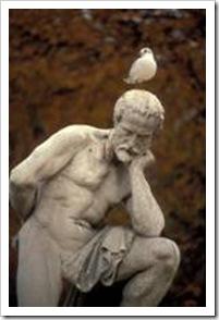 Thinking sculpture