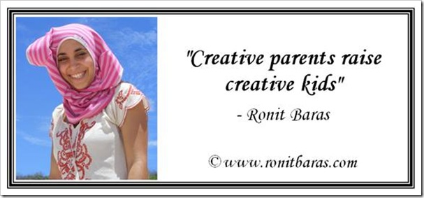 Creative parents raise creative kids