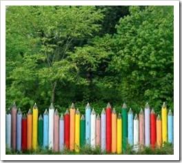 Pencil fence