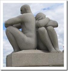 Miscommunication sculpture