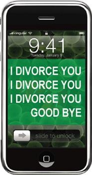Divorce by SMS