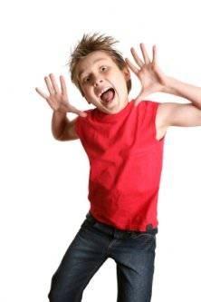 Hyperactive kid