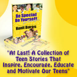 Buy Be Special, Be Yourself for Teenagers by Ronit Baras
