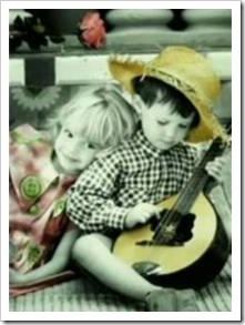 Kids with mandoline