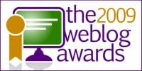 The 2009 Weblog Awards