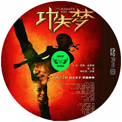 Karate Kid DVD cover