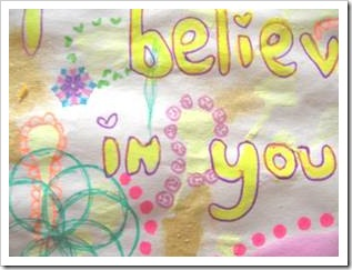 I believe in you letter