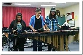 Marimba trio
