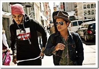 Travie McCoy and Bruno Mars