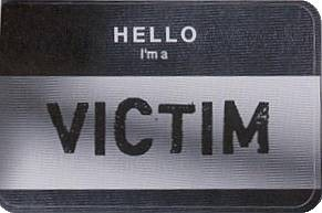 Victim badge