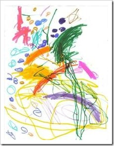 Child's scribble