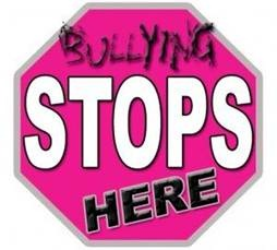 Bullying stop sign