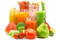 Fruits and fruit shakes