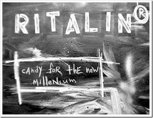 Ritalin: candy for the new millenium (poster)