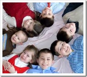 Circle of children
