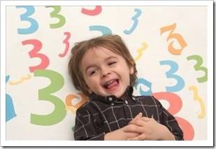 Laughing toddler