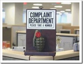Complaint department joke