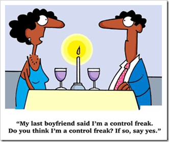 Control freak joke