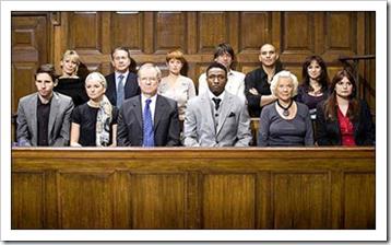 A jury panel