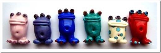 Ceramic creatures