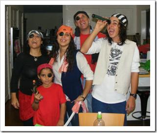 The Baras family pirates