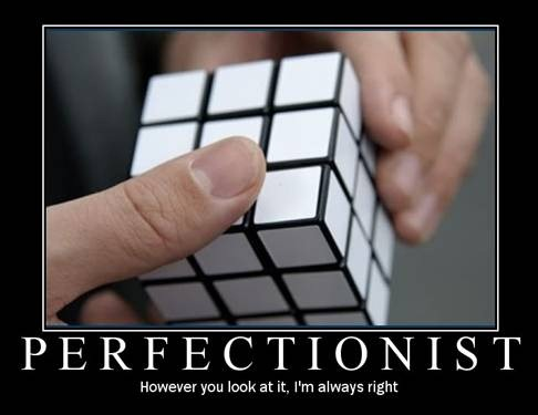Perfectionism poster