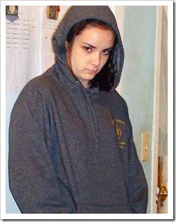 Teenager in a hoodie