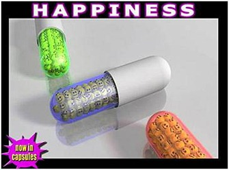 Ad for happiness pills