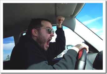 Driver in road rage