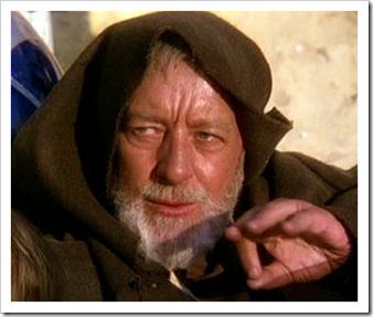 Obi Wan Kenobi from Star Wars