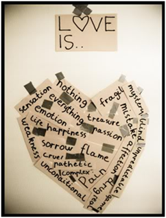 Poster about love