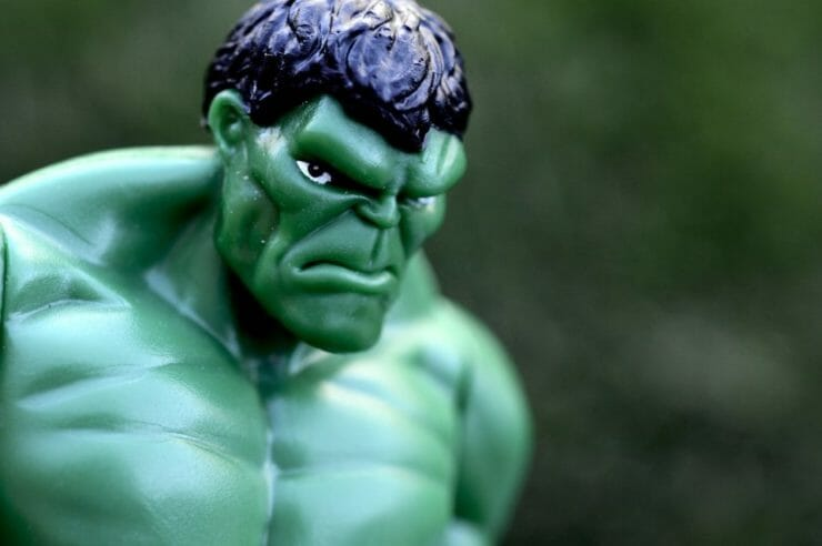 Hulk - the symbol of bad anger management