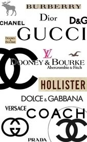 Fashion labels