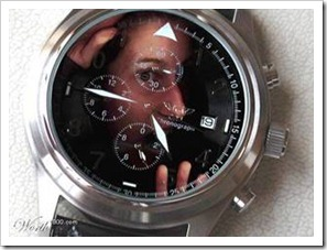 Person trapped in a watch