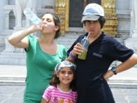 3 nice kids on the street