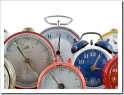 Collection of clocks