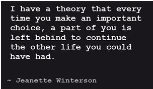 Jeanette Winterson's saying on choices