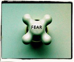 Tap knob titled 'fear'
