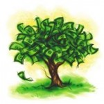 Money tree - one of the most common beliefs about money