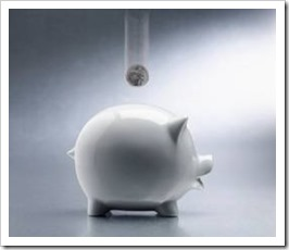 Piggy bank - useful with some positive beliefs about money