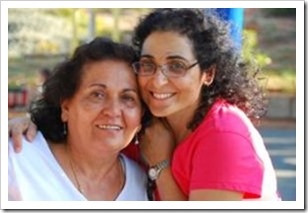 Ronit and her mother