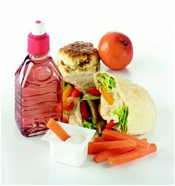 Healthy food and snacks - better when you are moving than junk